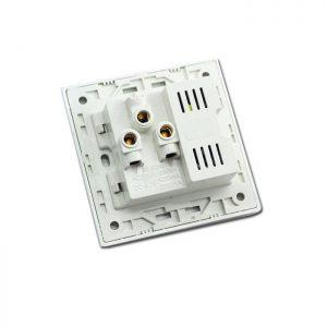 Ổ cắm điện âm tường có cổng usb | LG-BS2P2U-01WP