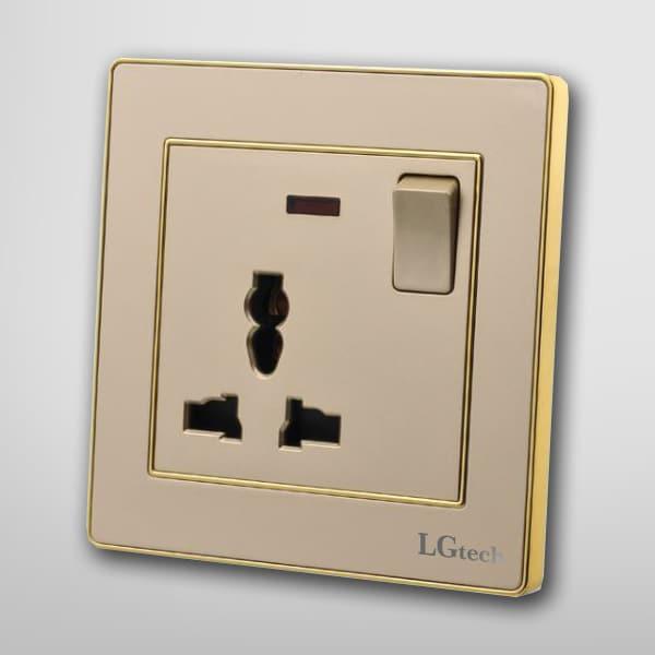 Ổ cắm điện âm tường lg tech